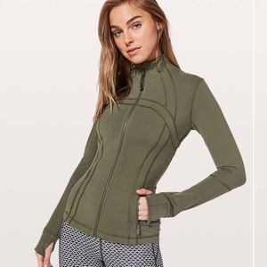 Lululemon Define Jacket Sage size 4